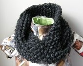 PDF - Chunky Twisted Cowl - Sell what you knit