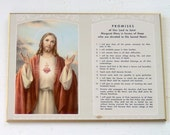 Vintage Promises of our lord Plaque