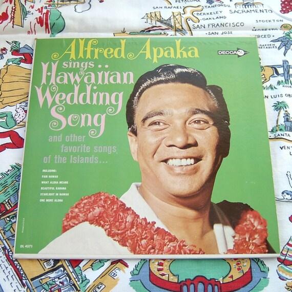 Alfred Apaka - The Hukilau Song