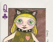 Catgirl ACEO