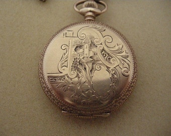 1899-1904 Gold Elgin Pocket Watch