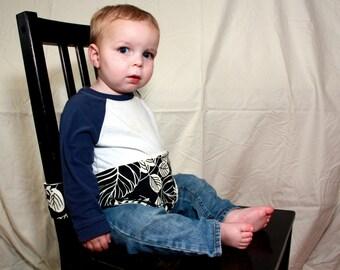 Portable Cloth High Chair (Green Botanical)