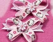Hello Kitty Snap N Go Dog Hair Bows - single bow
