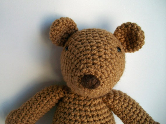 Custom order Toasty Teddy Bear for Michele Henry