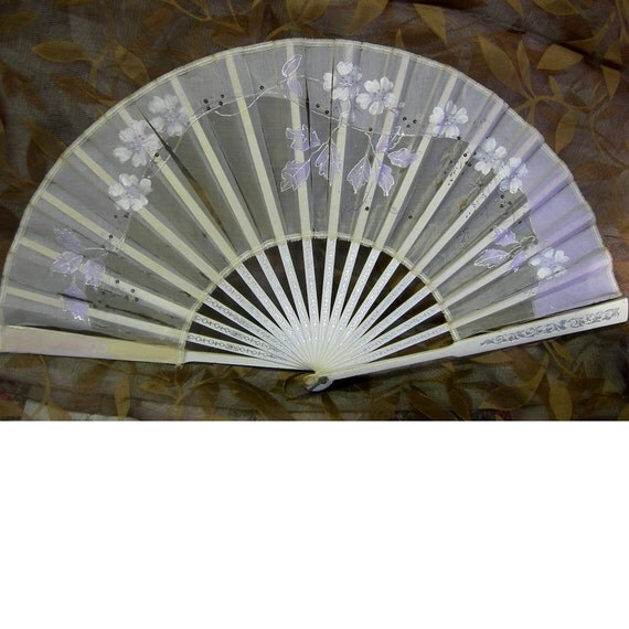 Shabby Chic Vintage Fan - Early 1900's