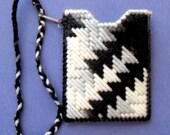 Credit Card Holder - Zebra
