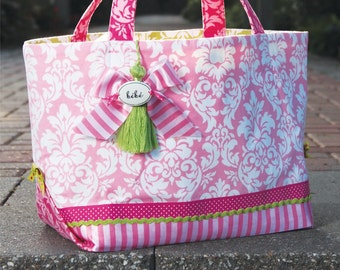 The Out 'N About Tote Bag Sewing Pattern (#106)