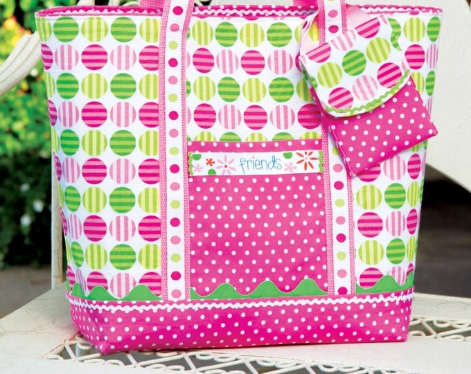 The Reversible Tote Bag Purse DIY Sewing Pattern (#104)