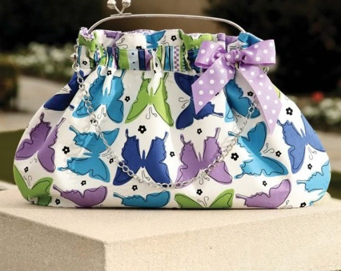 The Interchangeable 4 Bag Purse DIY  Sewing Pattern (#117)