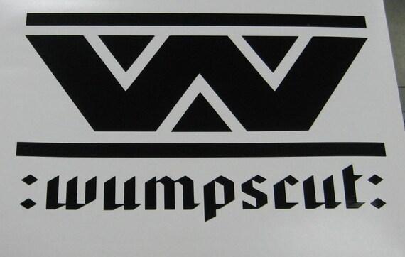 Wumpscut vinyl industrial decal sticker Macbook cyber