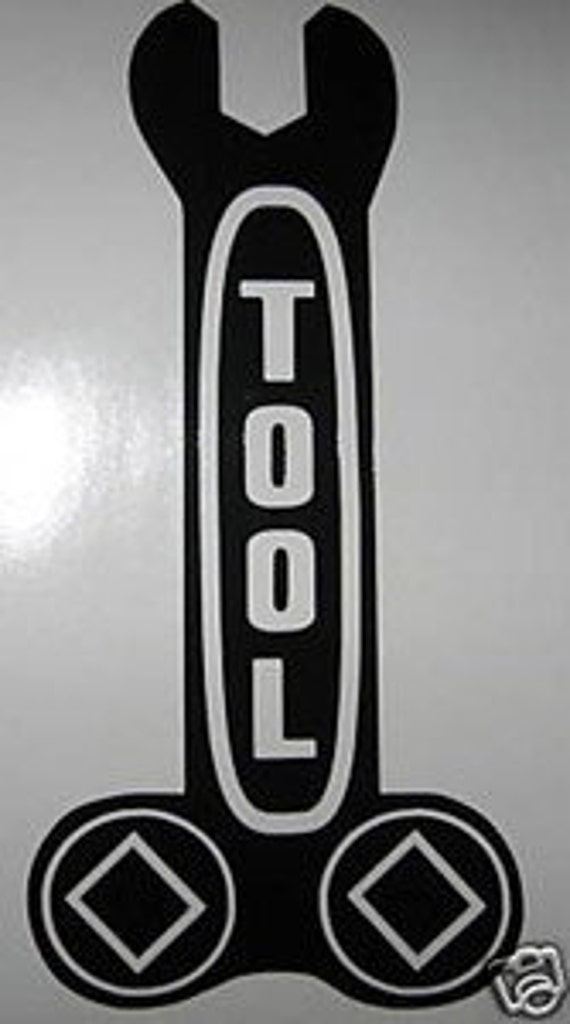 Tool Band Wrench Logo Vinyl Decal Sticker Music