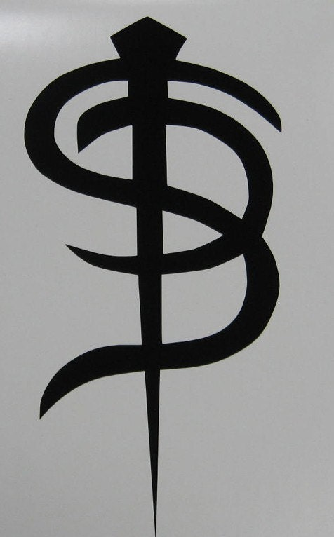 Skinny Puppy Logo Decal Sticker Industrial Goth
