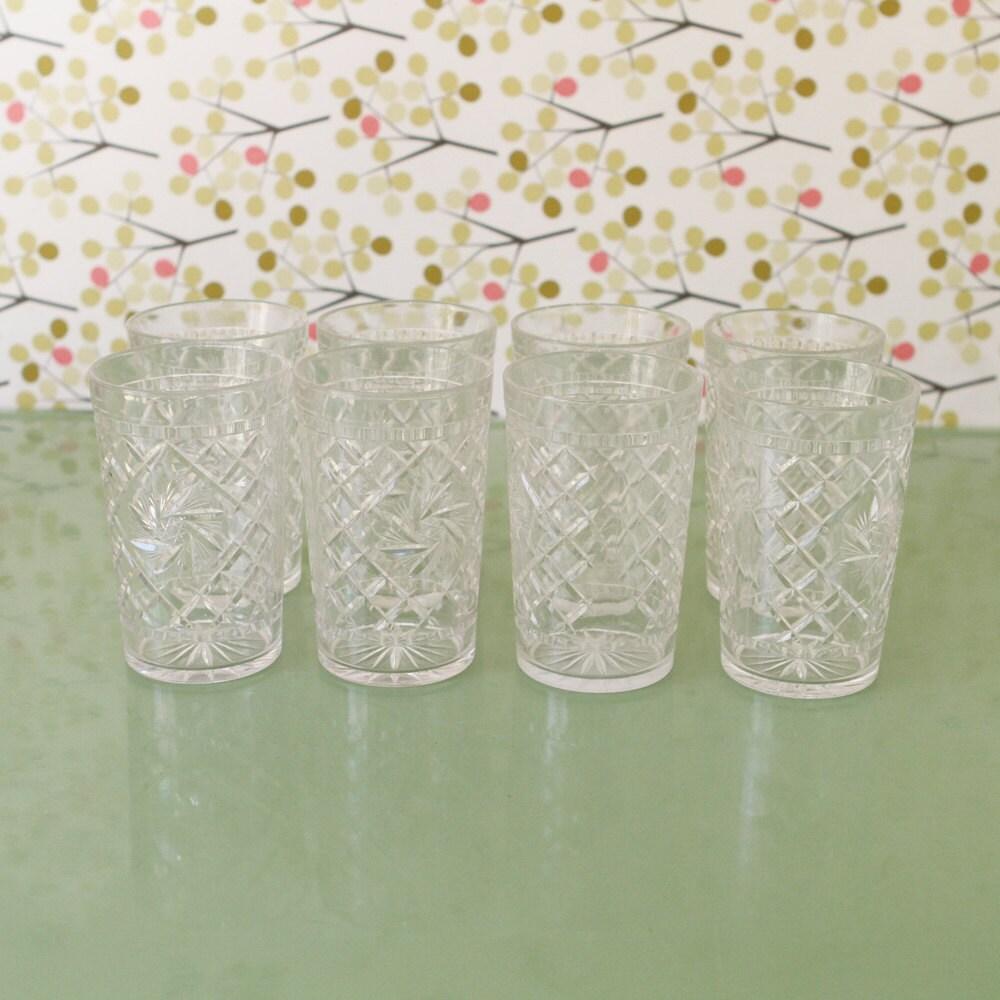 plastic vintage drinking glasses defence