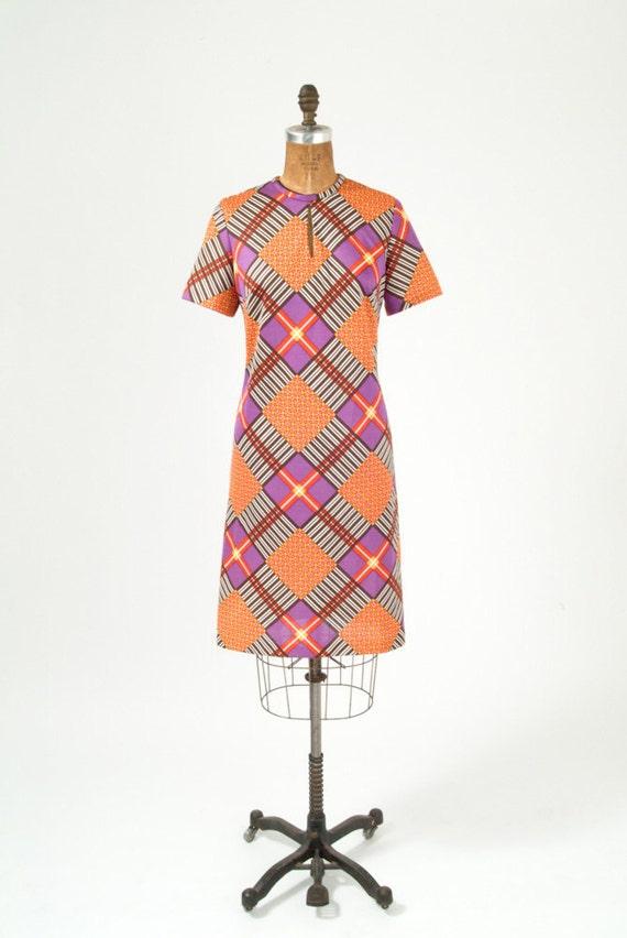 MOD Geometric Arabesque Dress