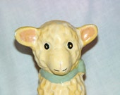 McCoy Adorable Lamb planter or Nursery accesory. Baby shower