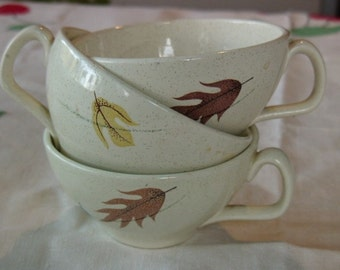 tea cups  franciscan  autumn pattern    (3)