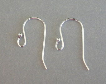 Upgrade to Sterling Silver earwires - earrings purchase required with these, 1 pair