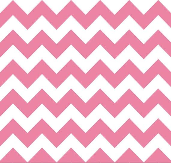 CHEVRON Cotton in Pink by Riley Blake Designs - 1 Yard