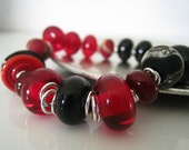 RESERVED for bethesda14610 - Black and Red,  Bracelet