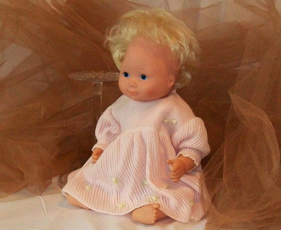 1977 Fisher Price Doll My Baby Beth 17 Inch