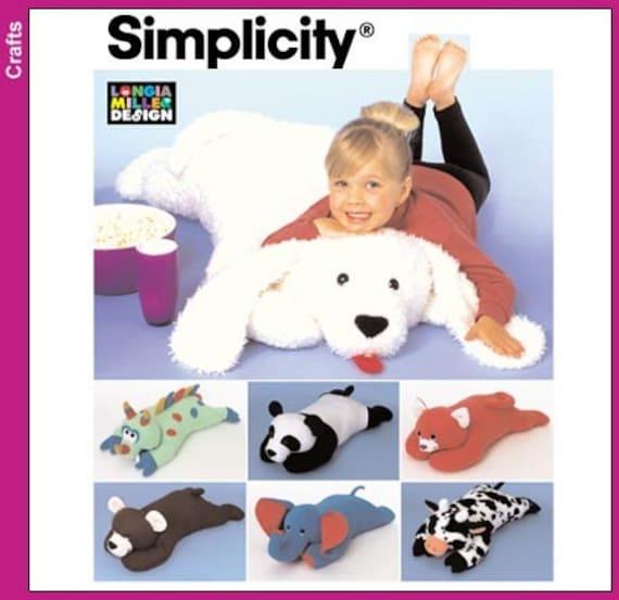 Animal Body Pillow Pattern : ANIMAL PILLOW PATTERNS FREE Knitting PATTERNS