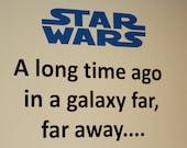 Star Wars - vinyl wall design