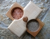 Cherry and Maple Salt Cellar