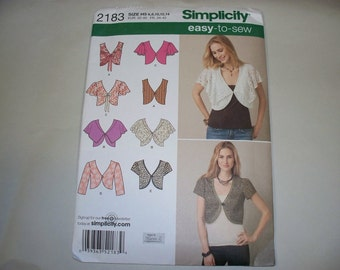 New Simplicity  Vest and Jacket Pattern, 2183 (H5) (Free US Shipping)