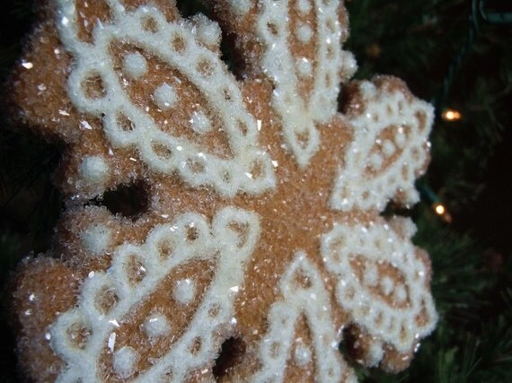 Snowflake Christmas Ornament- Lacey