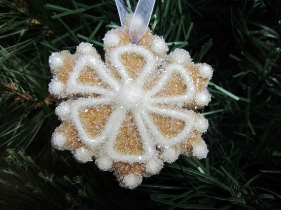 Gingerbread Snowflake Ornament-Baby Flake-Magic
