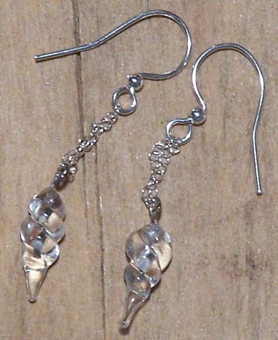 SALE: Melting Icicle Earrings