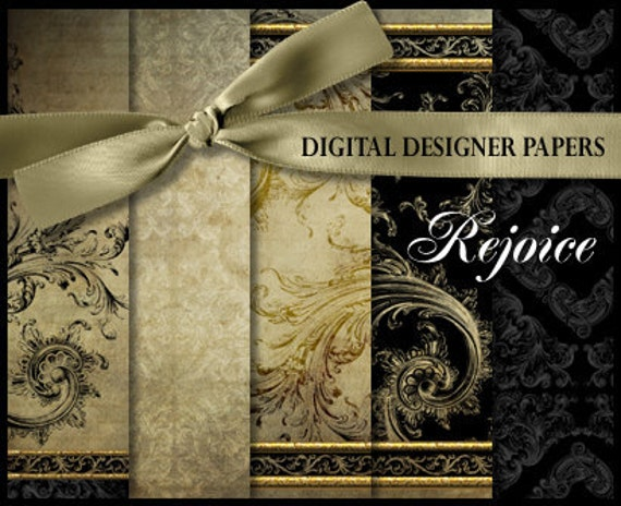 Digital Papers - REJOICE - 12x12 Expertly Designed Photography and Scrapbooking Backdrops.