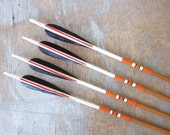 vintage wood arrows / painted arrows