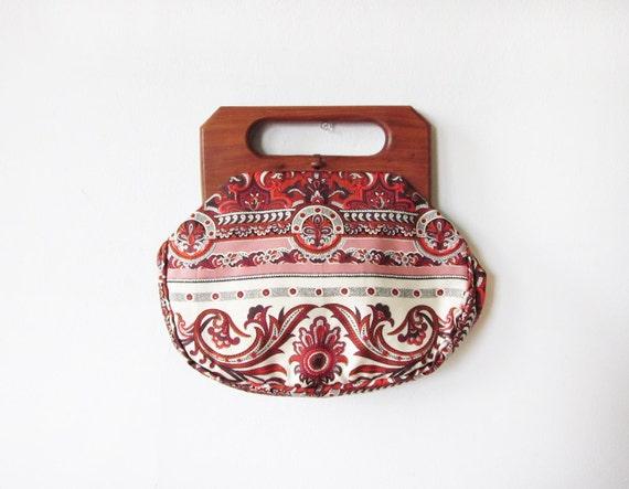 vintage bermuda bag / 1960s trimingham's bermuda bag