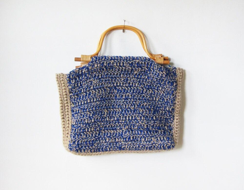 Vintage Knitting Bag : Vintage large knitting bag by rustbeltthreads on etsy