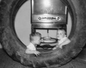 Thanks for the Big Tire Dad Vintage Photo