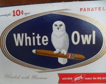 Vintage White Owl Cigar Box