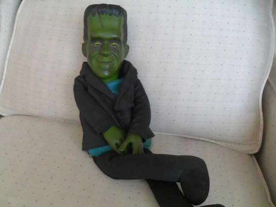 Vintage Herman Munster Doll 1960s The Munsters by Mattel Reserved for Jean H