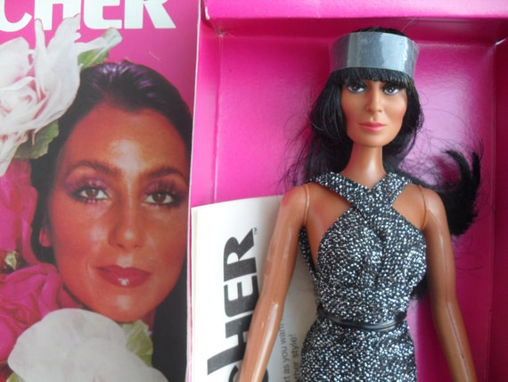 Vintage 70s Mego Cher Doll with Growing Hair Mint in Box