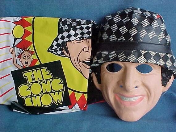 Vintage Gong Show Chuck Barris Halloween Costume