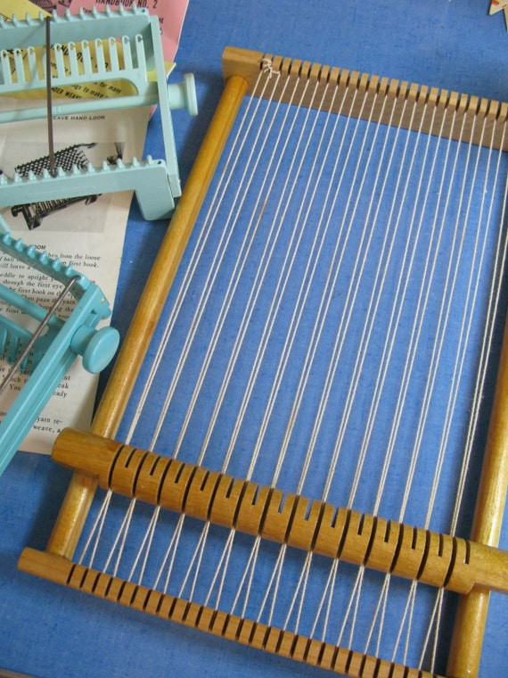 vintage wonder weaver weaving loom