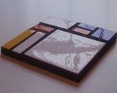 Mondrian inspired trivet White1 Bold, beautiful and practical