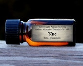 RUE (Ruta graveolens) Artisan Alchemist™ Essential Oil 10% for Rituals of Cleansing, Protection Against Evil Eye & Negativity, Hex Breaking