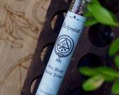 Olde World ALCHEMIST Botanical Potion Phial for Occult Alchemy, Transformation, Transition, Transmutation, Change, Bringing Order from Chaos