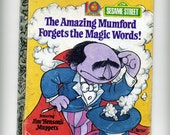 Amazing Mumford Forgets the Magic Words Vintage 1979 Children's Book