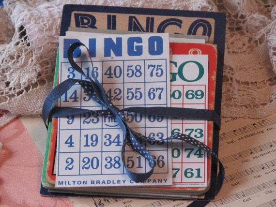 Vintage Bingo - Lotto Cards - Bakers Dozen