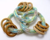 Baby Rattle Ring - Nature