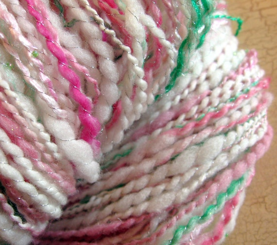 The Princess and the Pea - Handspun Art Yarn