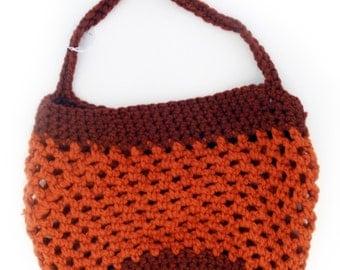 The Big Bowl Tote - In Orange