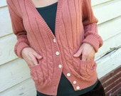 ON HOLD for Fiskeboll Love Me Cardigan (Size Small)
